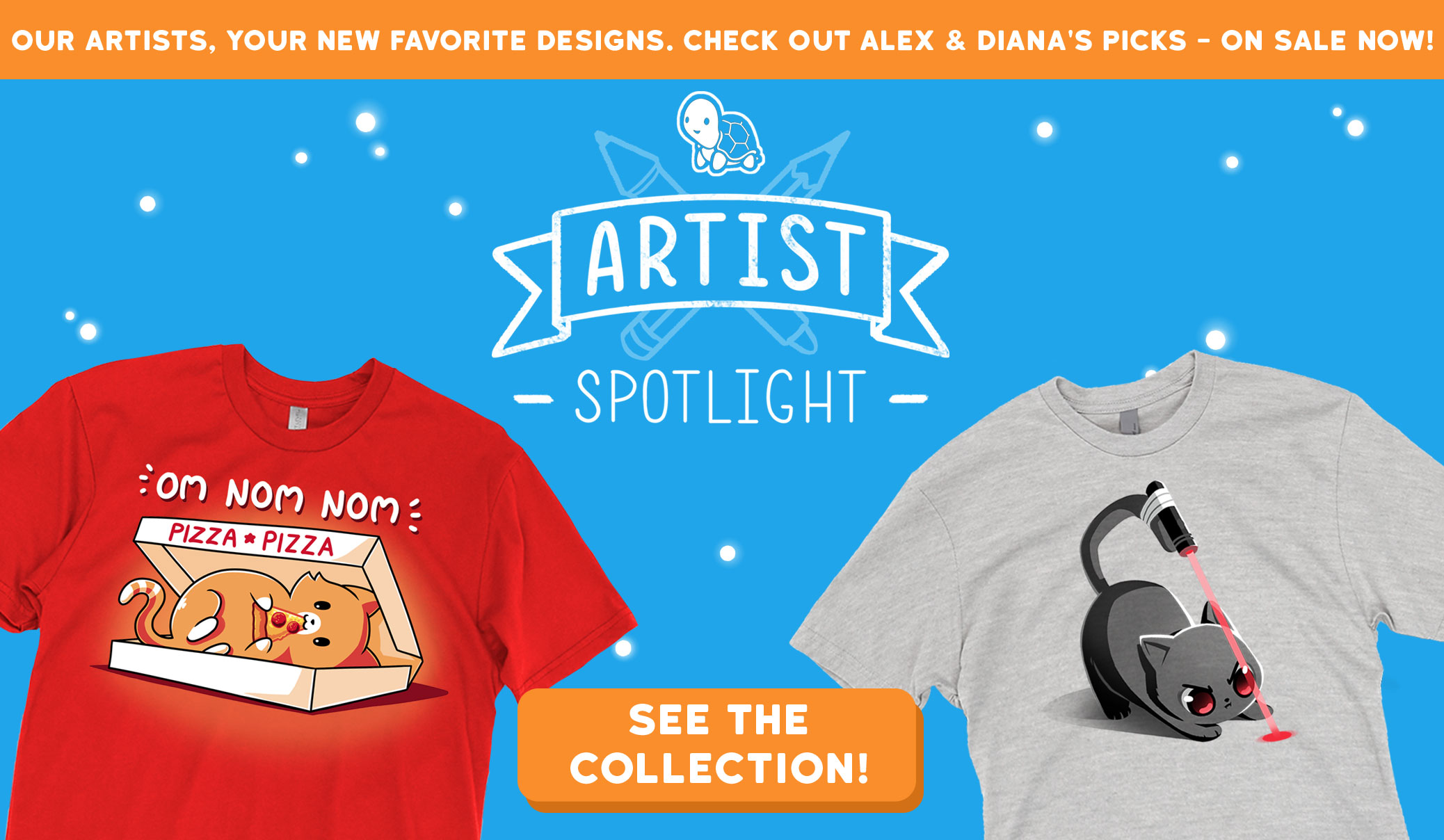 f2222db7 TeeTurtle - Cute, nerdy, pop-culture t-shirts! - TeeTurtle