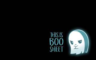 boo sheet