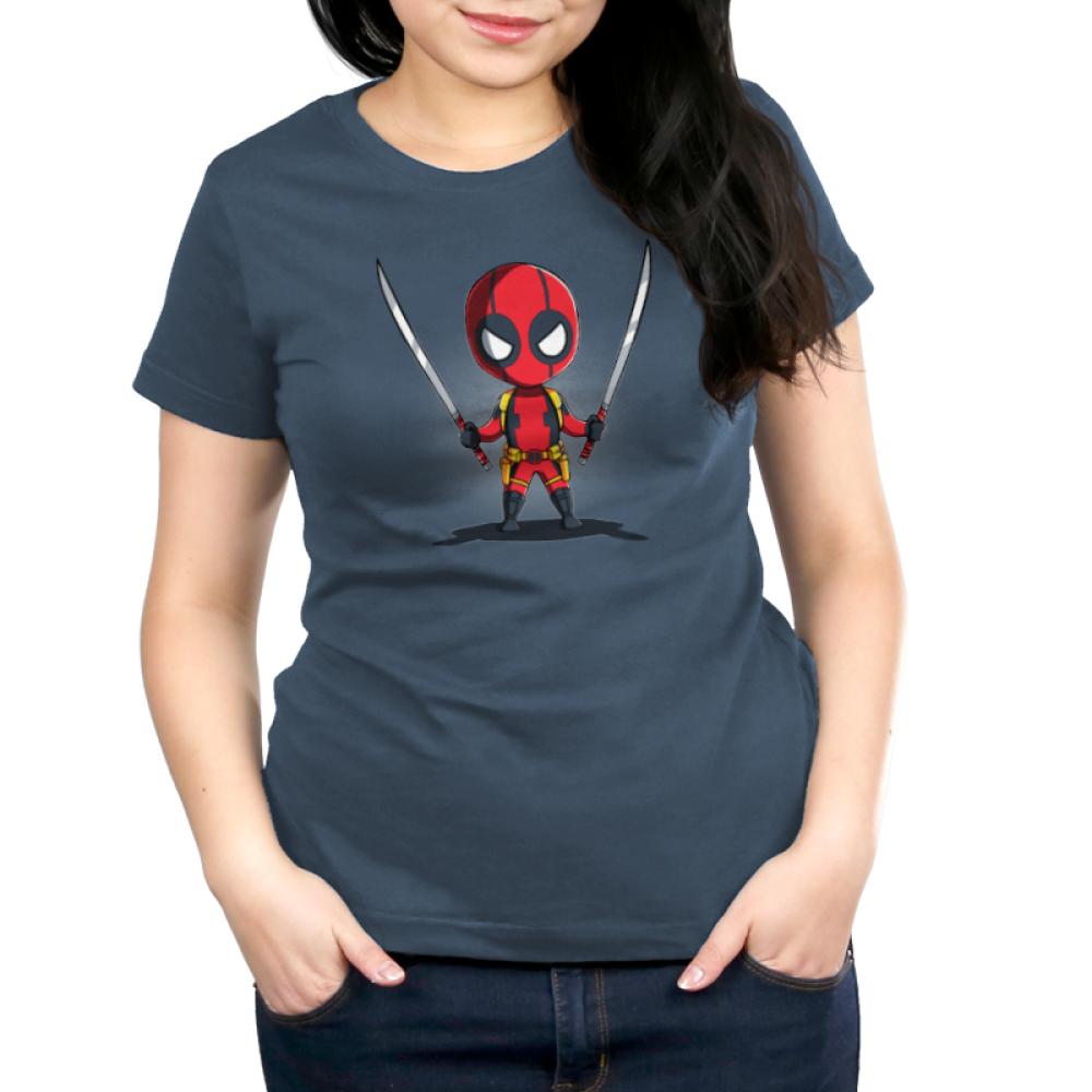 Dual Wielding Deadpool Funny Cute Nerdy Shirts Teeturtle