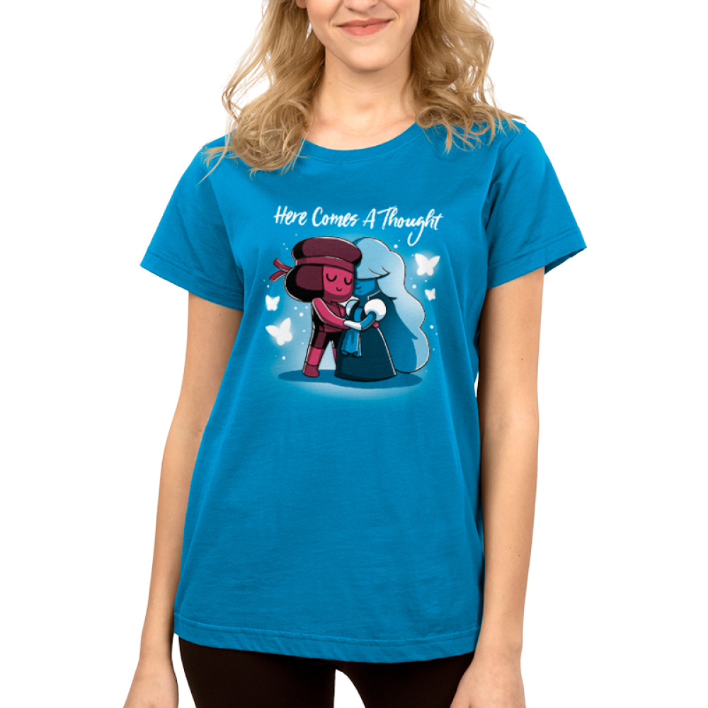 9c04733e Ruby & Sapphire: Here Comes a Thought | Funny, cute & nerdy shirts ...