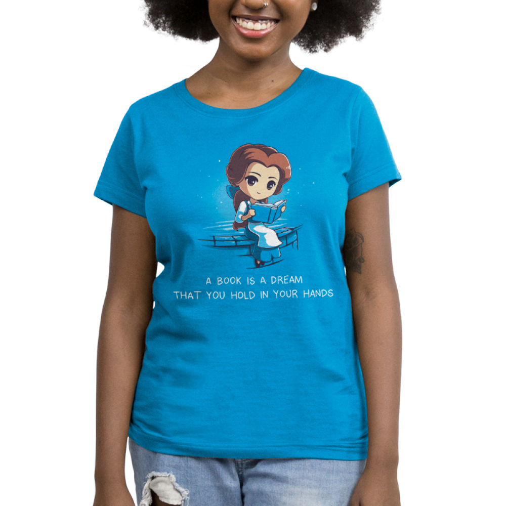 b37221a71 A Book is a Dream | Funny, cute & nerdy shirts - TeeTurtle