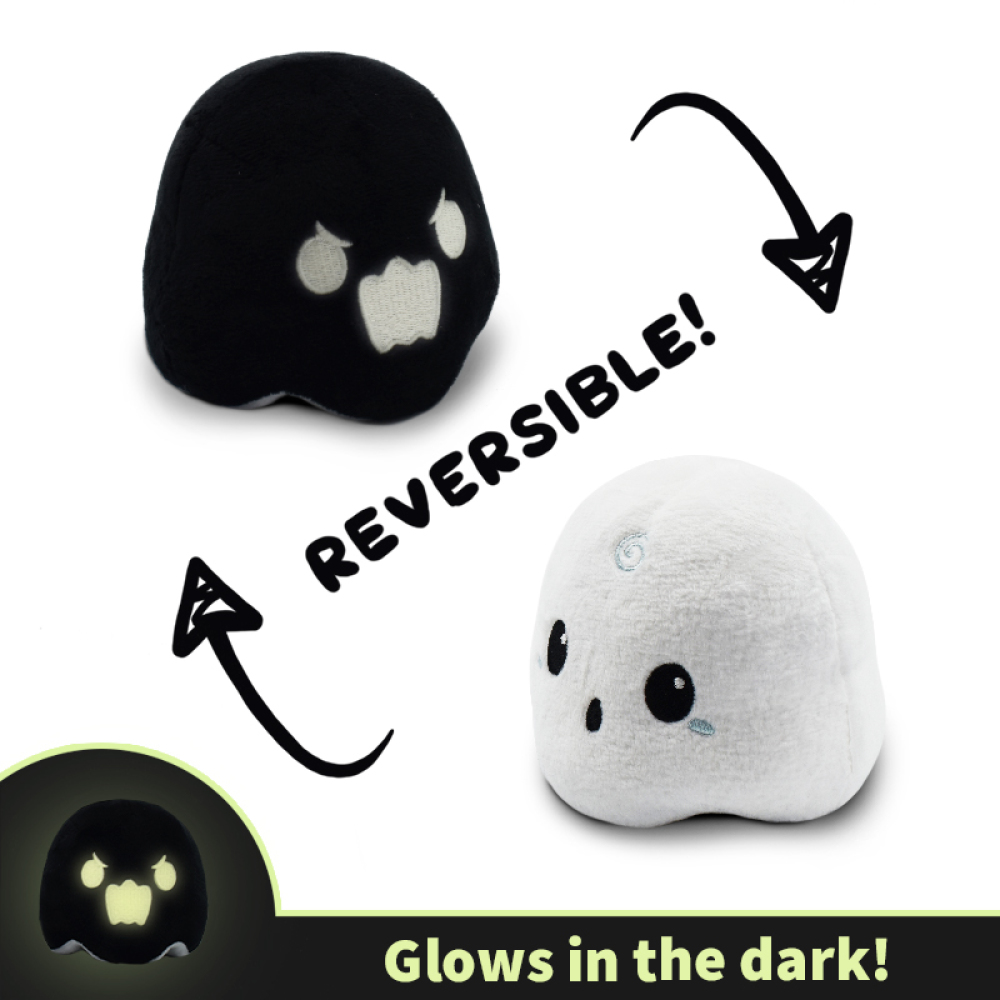 Reversible Ghost Mini Plushie TeeTurtle