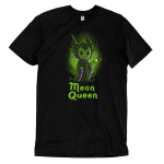 Mean Queen t-shirt officially licensed black Disney t-shirt featuring Maleficent from Disney Sleeping Beauty