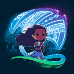 How Far I'll Go t-shirt officially licensed Disney navy t-shirt featuring Moana