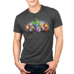 Avengers Assembled mens tshirt model officially licensed tshirt featuring the avengers