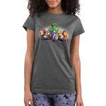 Avengers Assembled juniors tshirt model officially licensed tshirt featuring the avengers