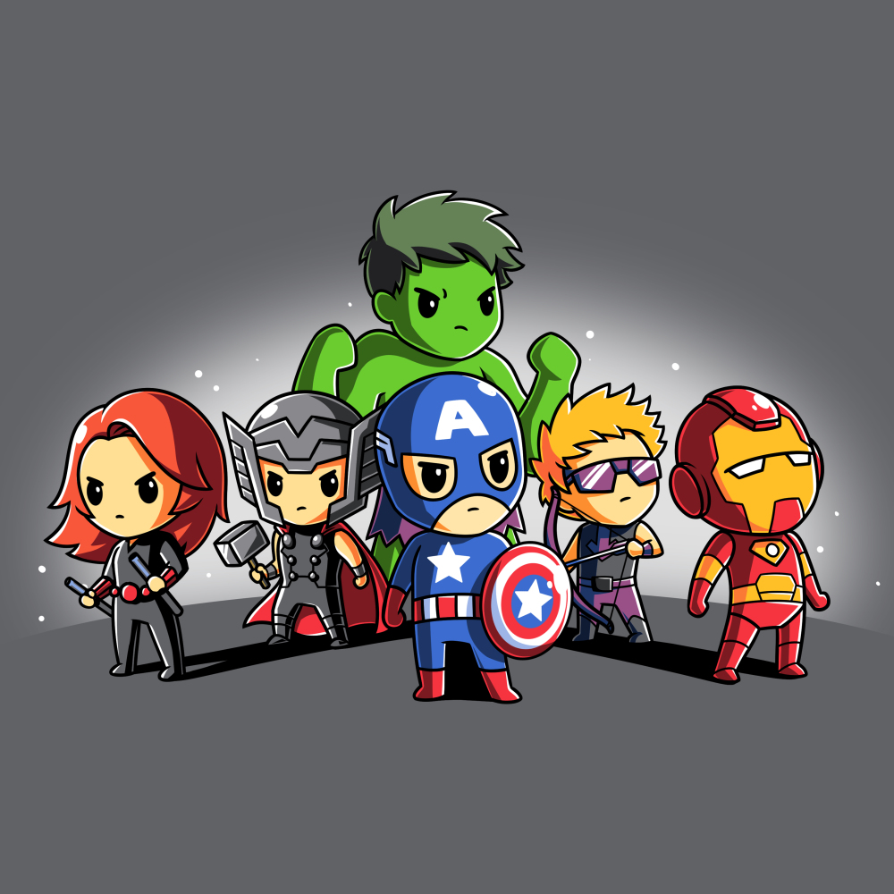 Avengers Assembled tshirt officially licensed tshirt featuring the avengers