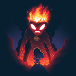 Moana and Te Ka t-shirt officially licensed navy t-shirt featuring Moana and Te Ka the volcano