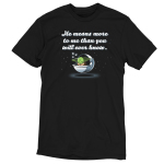 He Means More To Me Than You Will Ever Know tshirt officially licensed black tshirt featuring grogu asleep in his pod