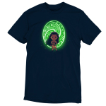 The Heart of Te Fiti tshirt officially licensed black tshirt featuring Moana