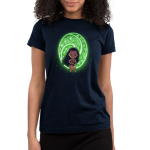 The Heart of Te Fiti juniors tshirt model officially licensed black tshirt featuring Moana