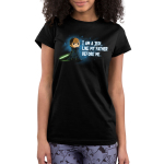 I am A Jedi juniors tshirt model officially licensed black tshirt featuring Luke with his green lightsaber