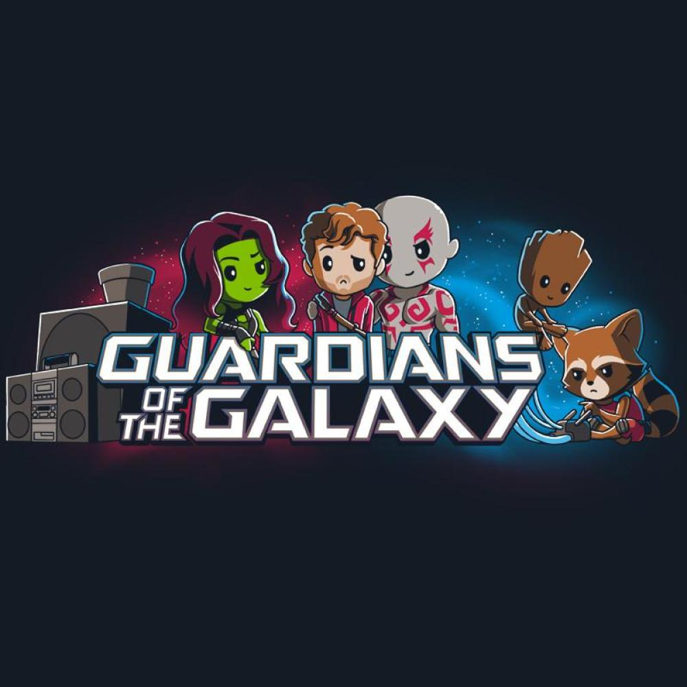 Guardians of the Galaxy Shirt T-Shirt Marvel TeeTurtle