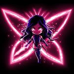 Psylocke T-Shirt Marvel TeeTurtle