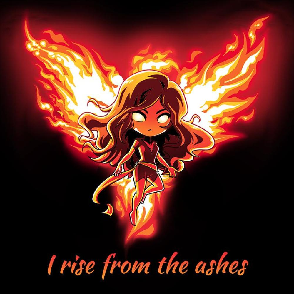 Phoenix T-Shirt Marvel TeeTurtle