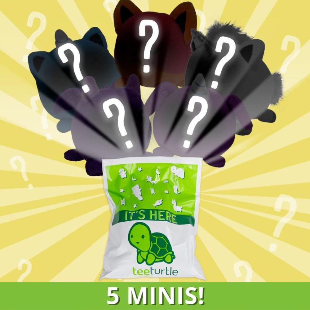TeeTurtle Minis Mystery Grab Bag - 5 Minis