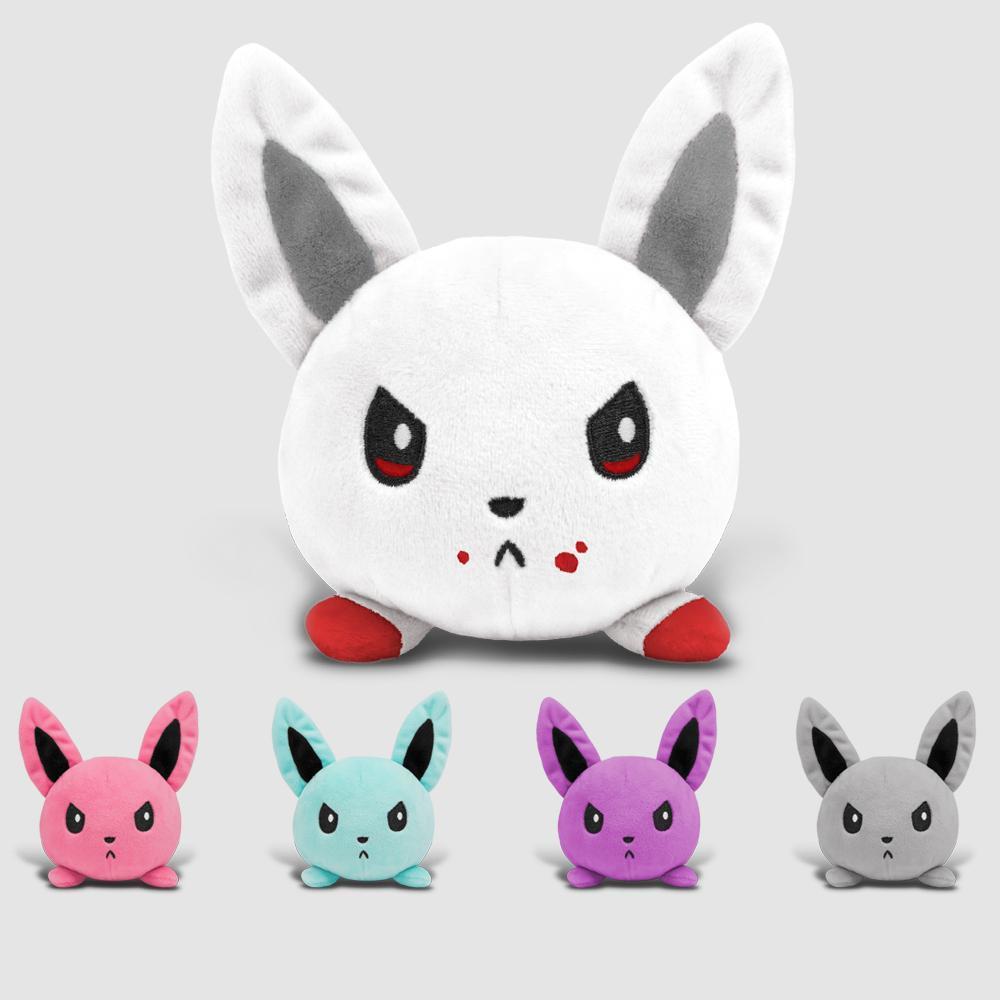 Angry Bunny Mini Plushies TeeTurtle Minis