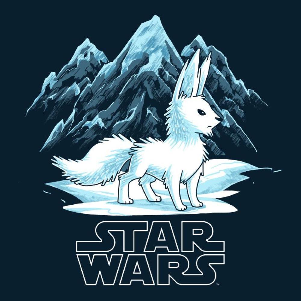 The Crystal Fox T-Shirt Star Wars TeeTurtle