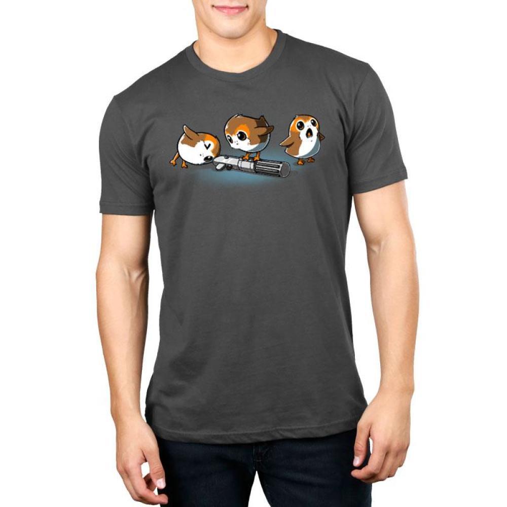 Curious Porgs Standard T-Shirt Model Star Wars TeeTurtle