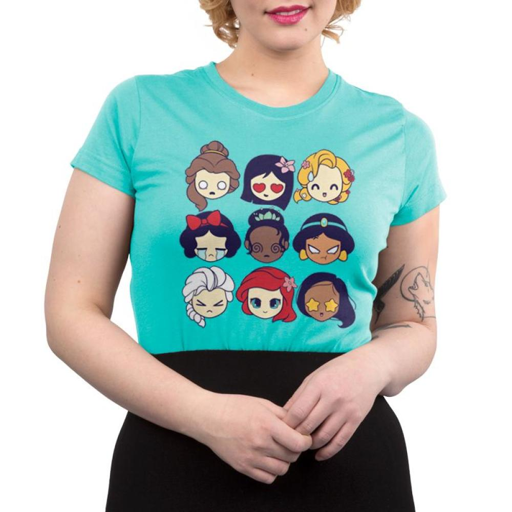 b5cc3f83b ... beast princess belle sparkle women s t shirt; disney princess emojis  official disney tee teeturtle ...