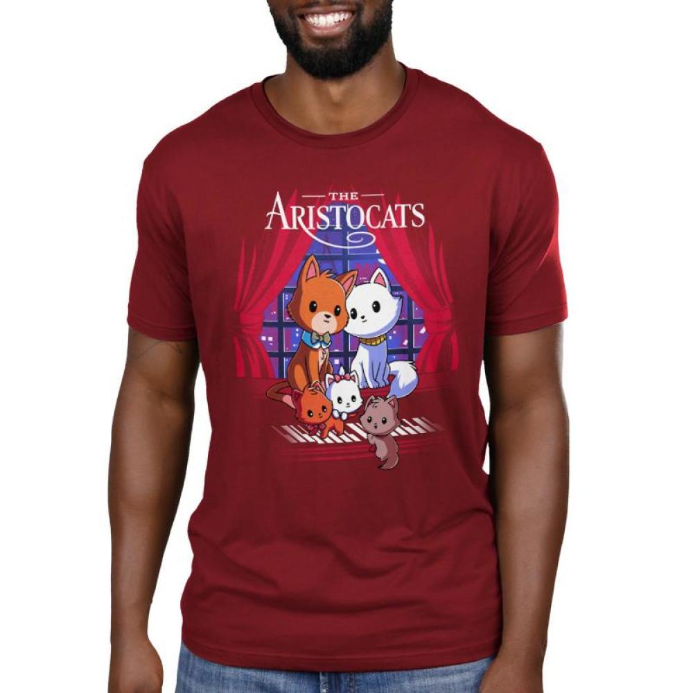 Disney The Aristocats Men's T-Shirt Model Disney TeeTurtle