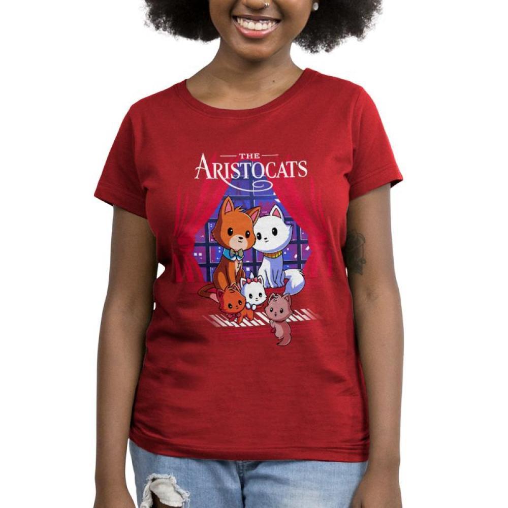 Disney The Aristocats Women's T-Shirt Model Disney TeeTurtle