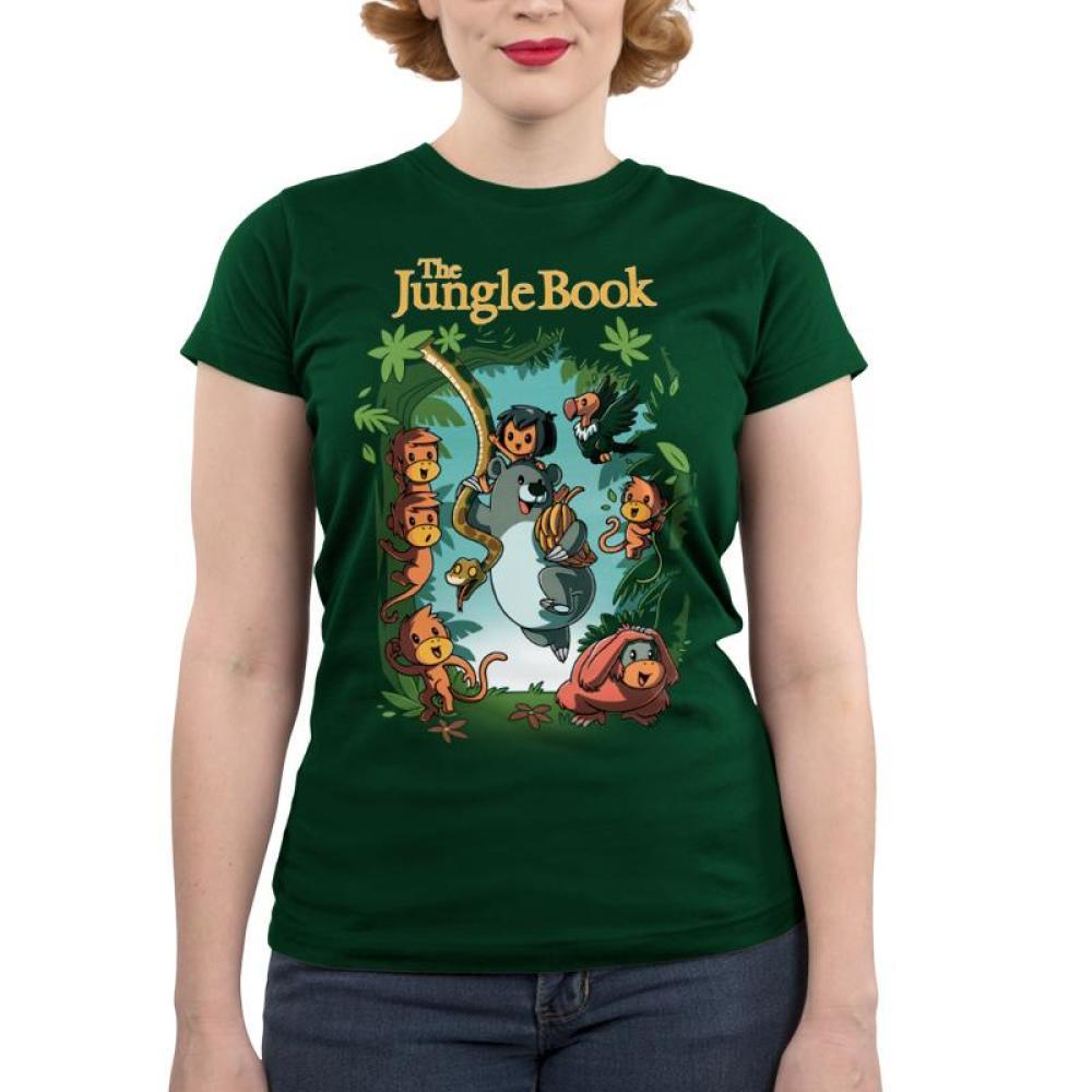 Disney The Jungle Book Juniors T-Shirt Model Disney TeeTurtle