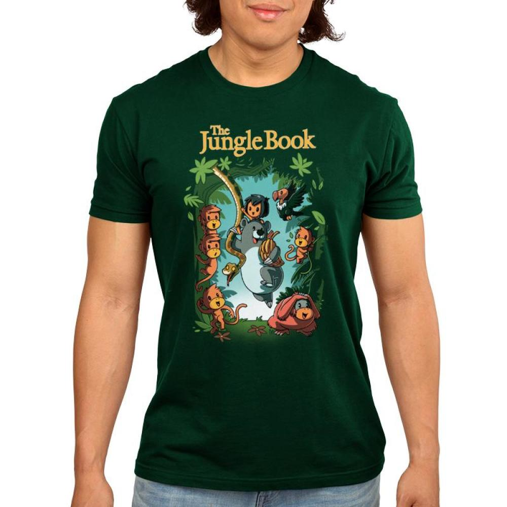 Disney The Jungle Book Men's T-Shirt Model Disney TeeTurtle