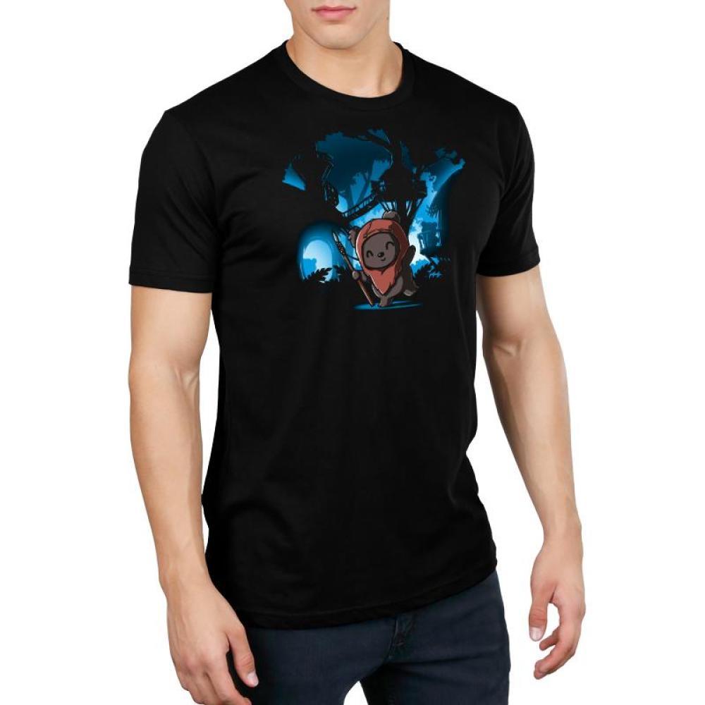 Ewok Village Standard T-Shirt Model Star Wars TeeTurtle