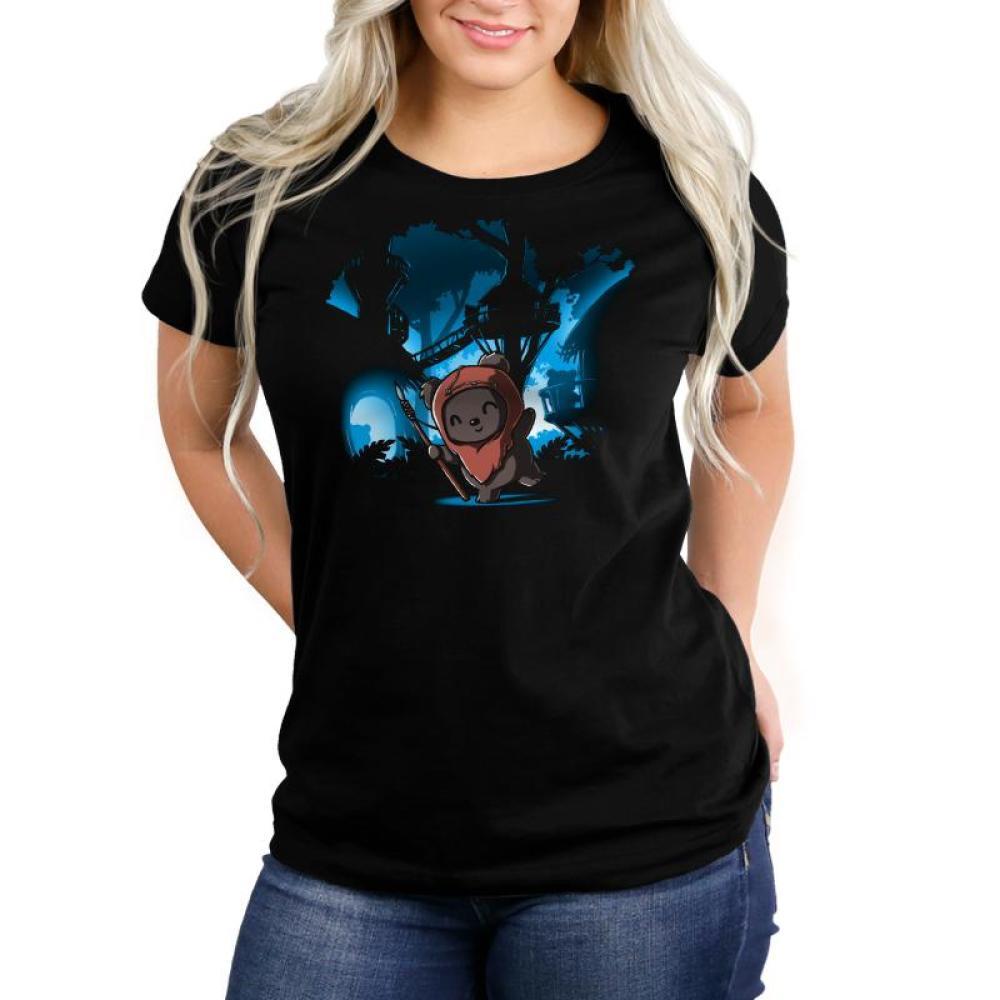 Ewok Village Women's Relaxed Fit T-Shirt Model Star Wars TeeTurtle