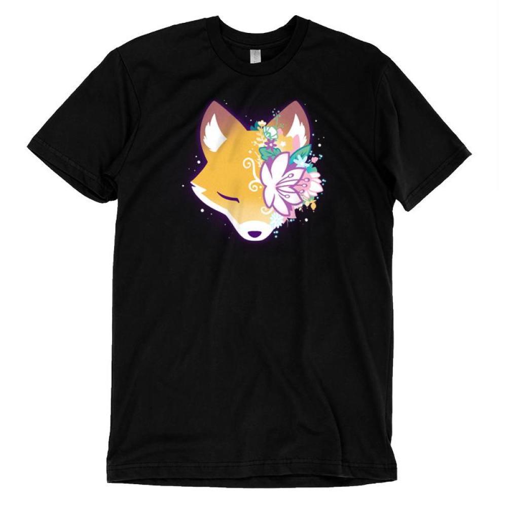 Floral Fox T-Shirt TeeTurtle