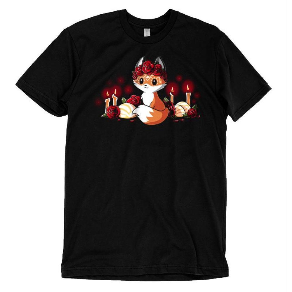 Dia de los Foxes T-Shirt TeeTurtle