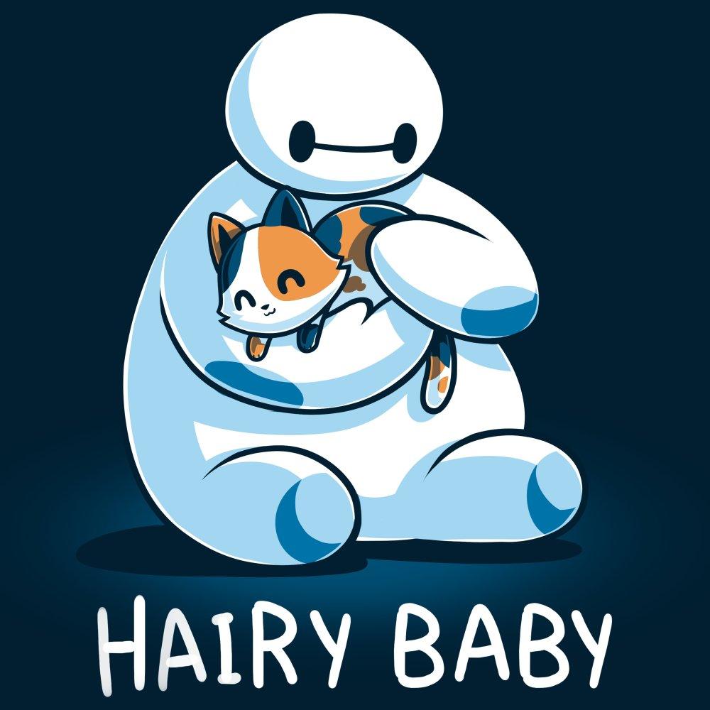 77ba8071f Hairy Baby T-shirt Disney TeeTurtle blue T-shirt featuring Baymax from Big  Hero