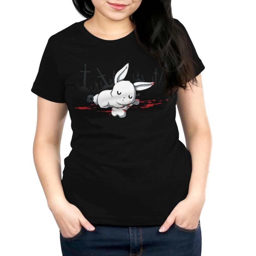 Harmless Little Bunny Women's T-Shirt Model TeeTurtle