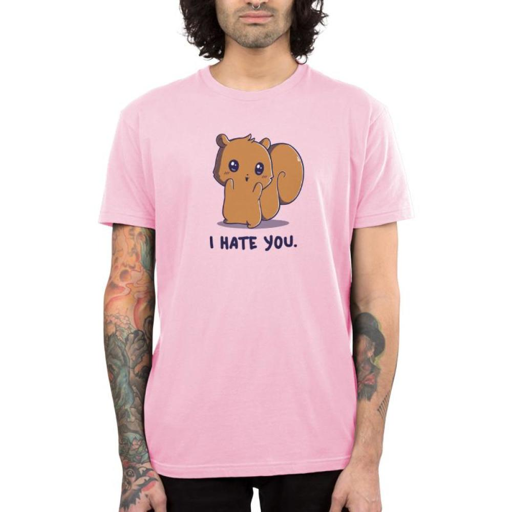 Hate You So Much Men's T-Shirt Model TeeTurtle