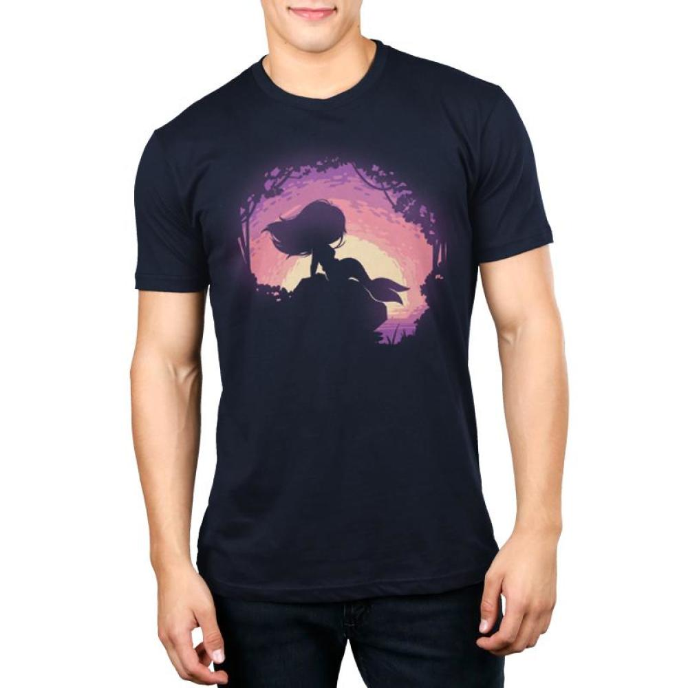 I Believe In Mermaids Men's T-Shirt Model TeeTurtle