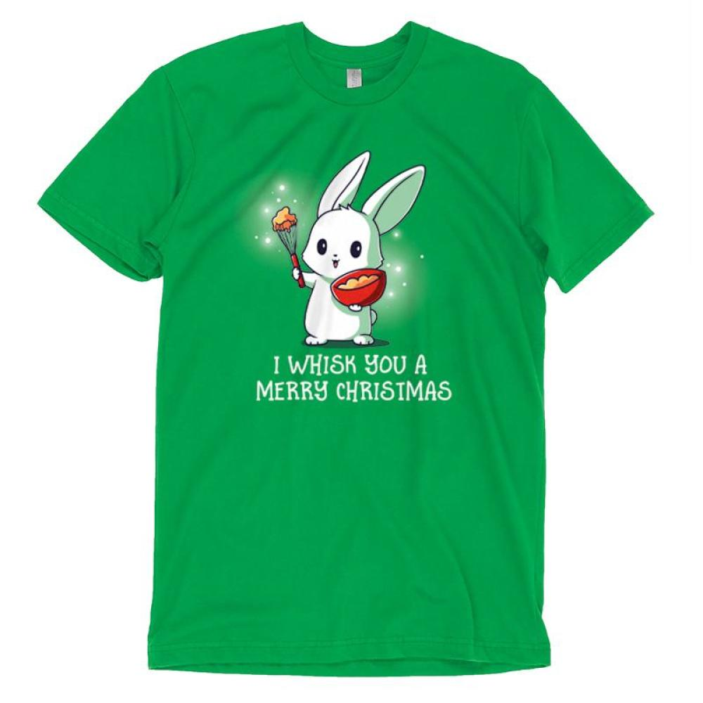 I Whisk You A Merry Christmas T-Shirt TeeTurtle