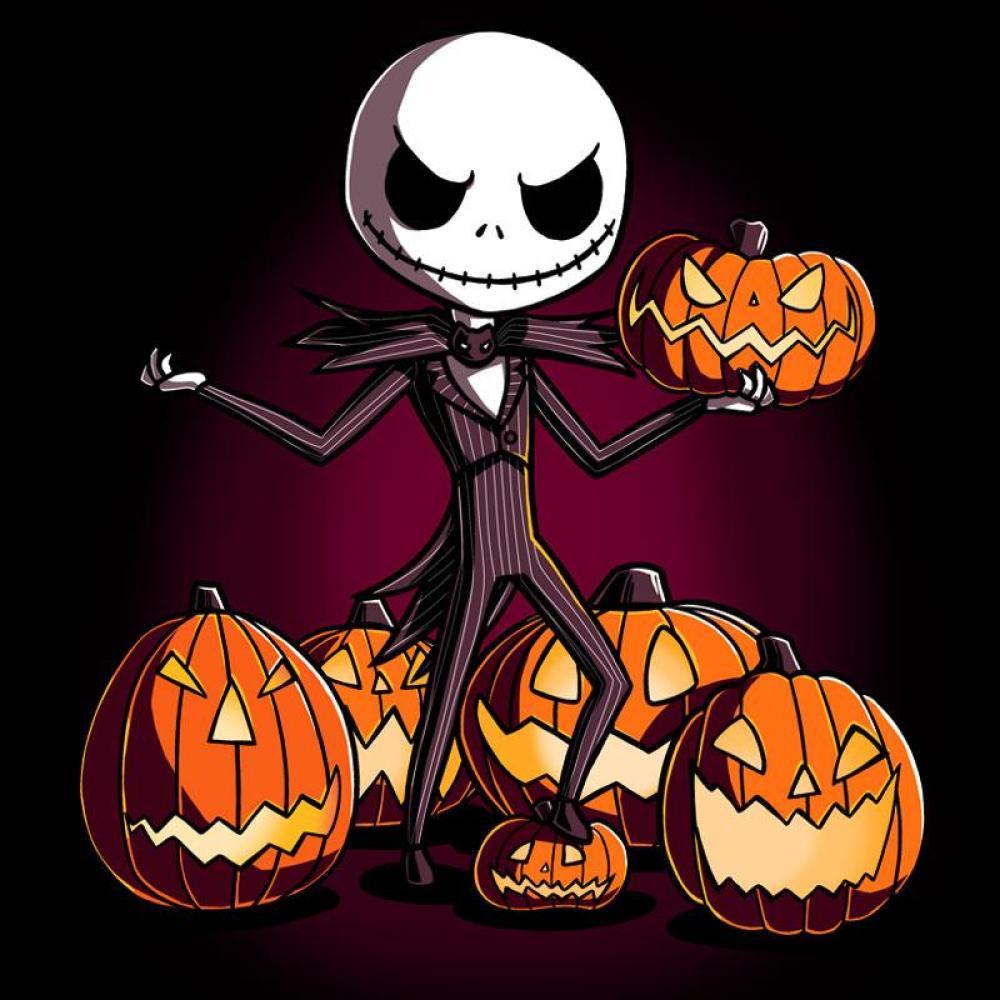 Jack Skellington The Pumpkin King T Shirt Official The Nightmare Before Christmas Tee Teeturtle Fandoms
