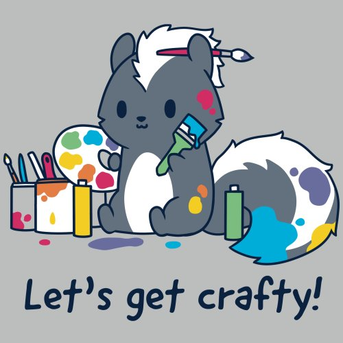 afcc7616 Let's Get Crafty! $24. Quick Add. I Love You Furry Much T-Shirt TeeTurtle  ...