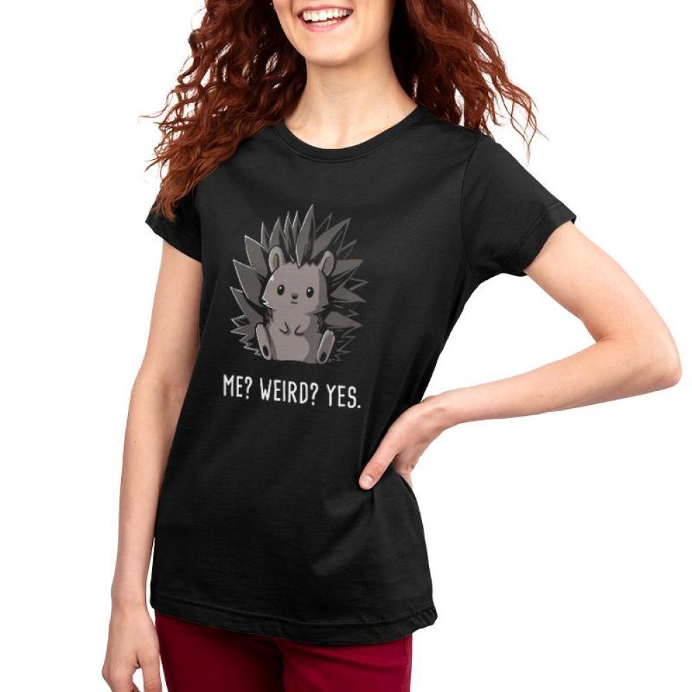 b37be0871 Weird? Yes. Women's T-shirt Model TeeTurtle Black t-shirt