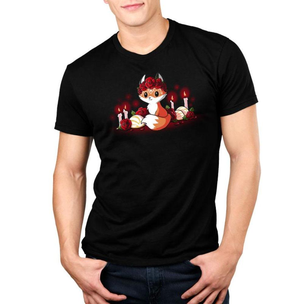 Dia de los Foxes Standard T-Shirt Model TeeTurtle