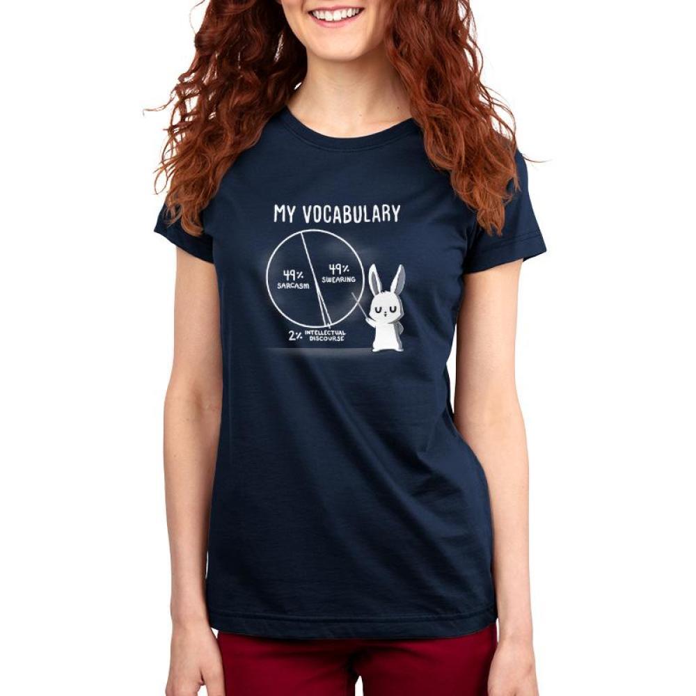 My Vocabulary Juniors T-Shirt Model TeeTurtle