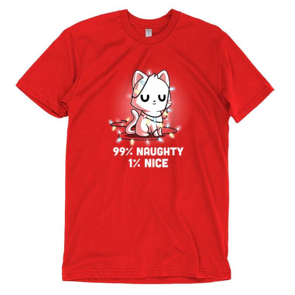 Naughty List T-Shirt TeeTurtle