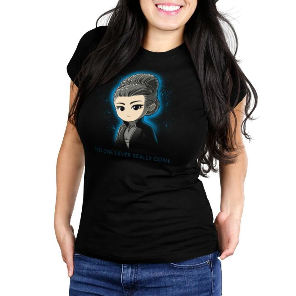 No One's Ever Really Gone Women's Ultra Slim T-Shirt Model Star Wars TeeTurtle