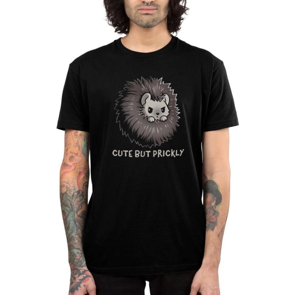 Prickly Men's T-Shirt Model TeeTurtle