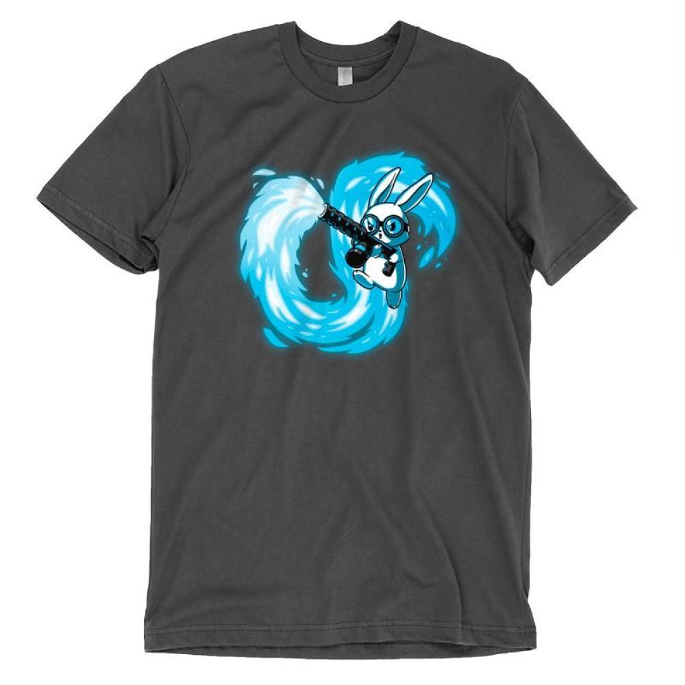 Pyromaniac Bunny T-Shirt TeeTurtle