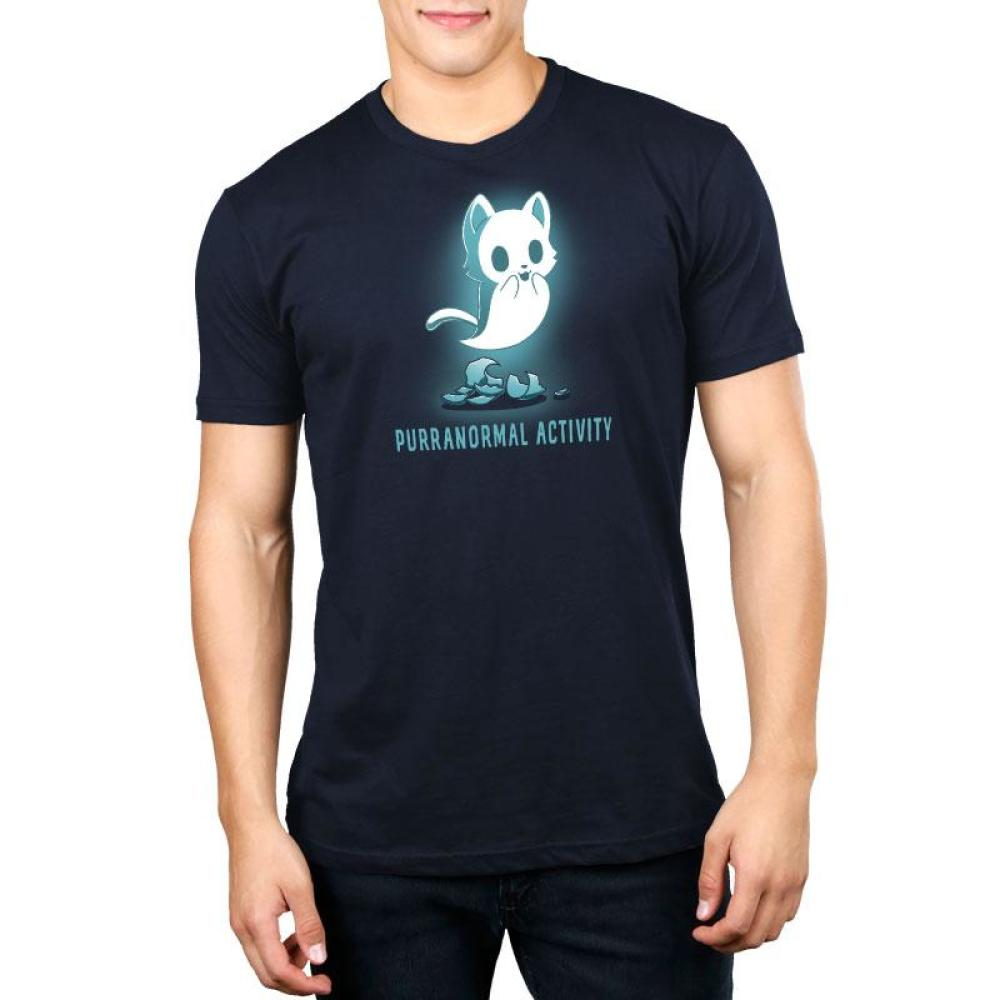 Purranormal Activity Standard T-Shirt Model TeeTurtle