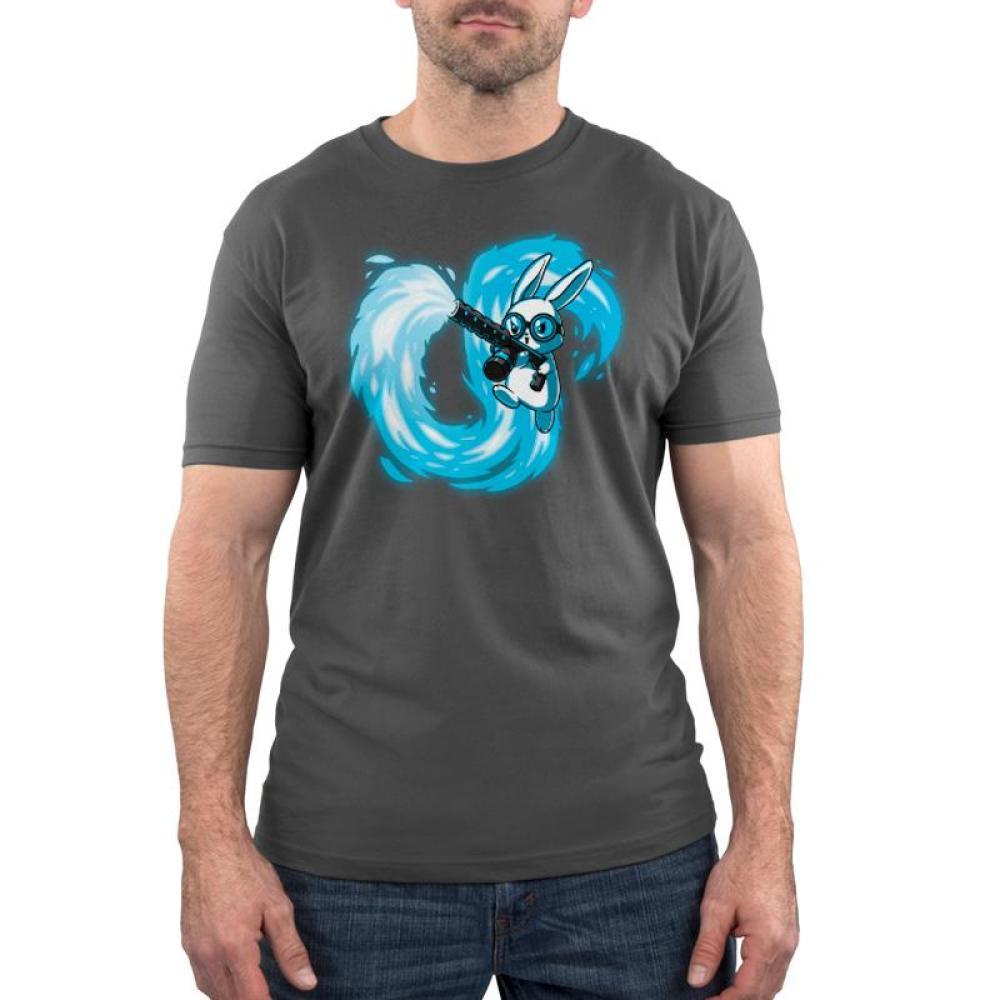 Pyromaniac Bunny Standard T-Shirt Model TeeTurtle