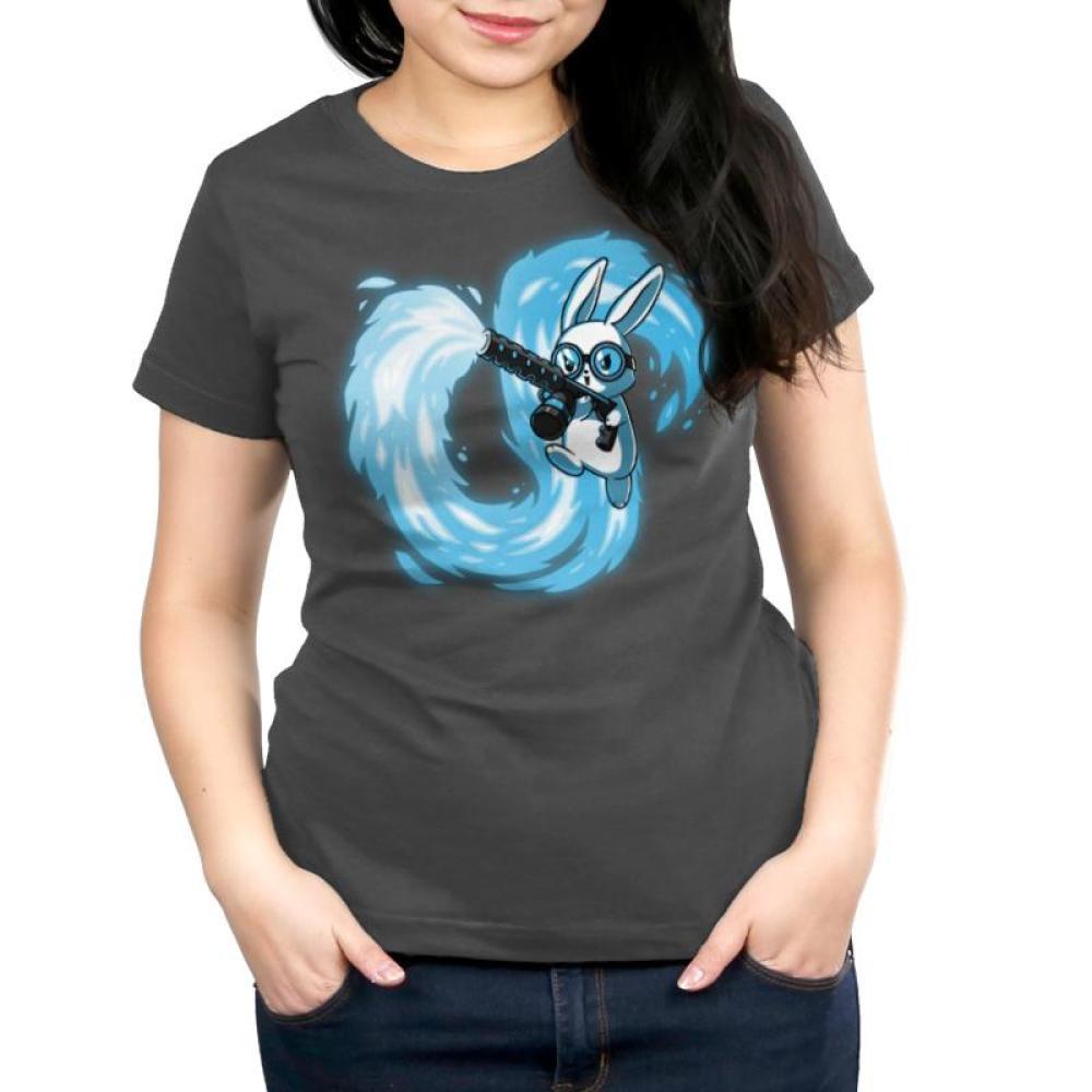 Pyromaniac Bunny Women's Relaxed Fit T-Shirt Model TeeTurtle