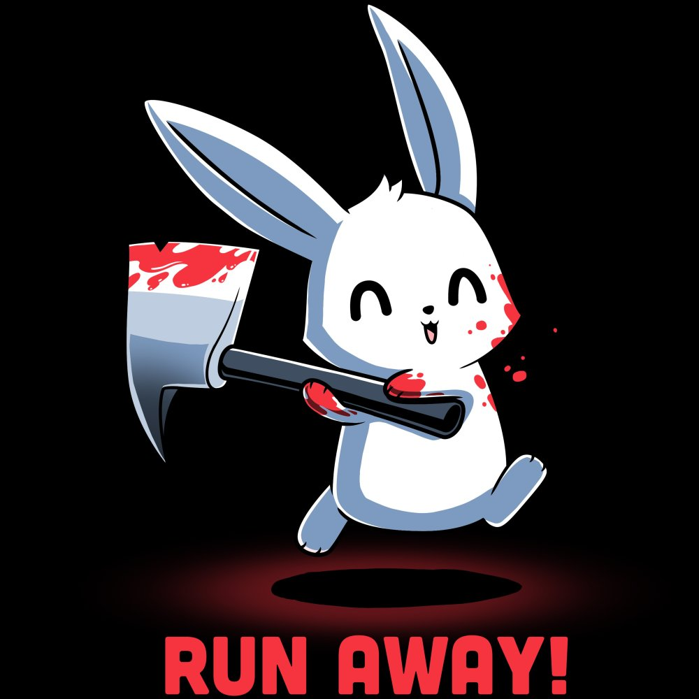 Run Away! T-Shirt TeeTurtle